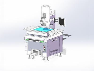 全自动影像测量仪(带金相系统)